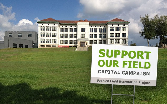 Support Our Capital Campaign to Restore Fosdick Field!